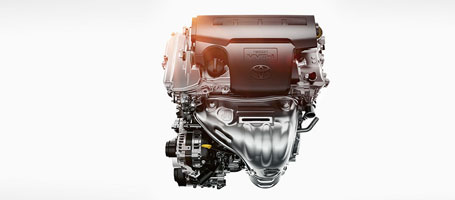 2.5-liter 4-cylinder DOHC