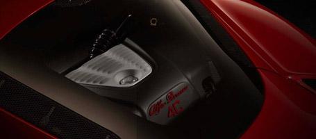 2016 Alfa Romeo 4C Spider Mid-Engine Design