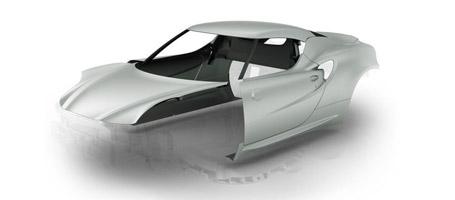 2016 Alfa Romeo 4C Spider Carbon Fiber