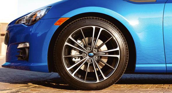 2016 Subaru BRZ Brakes