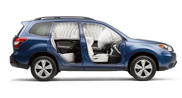 2016 Subaru Forester Airbags