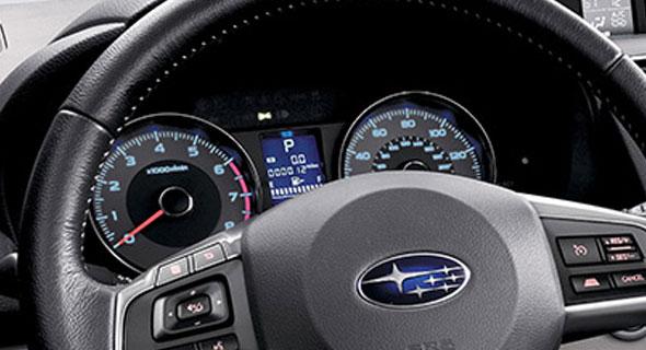 2016 Subaru Forester Gauges