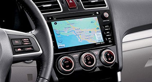 2016 Subaru Forester Navigation