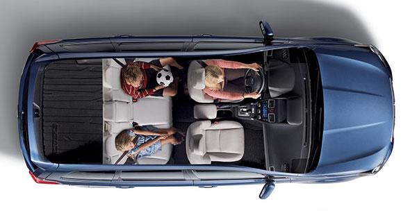 2016 Subaru Forester Roomy Cabin