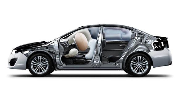2016 Subaru Impreza Frames