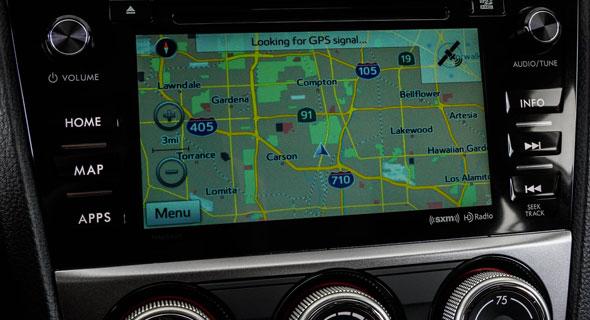 2016 Subaru Impreza Navigation