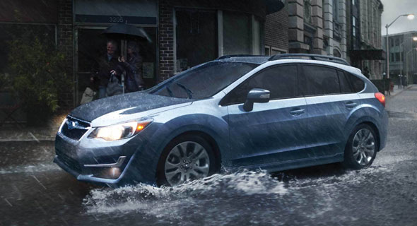 2016 Subaru Impreza Smart Braking