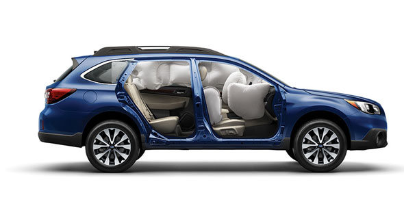 2016 Subaru Outback Airbags