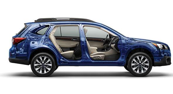 2016 Subaru Outback Frame