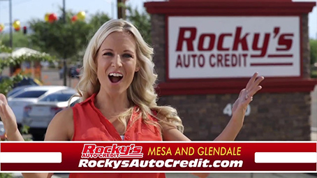 About Rocky's Auto Credit Used Cars in Glendale, AZ
