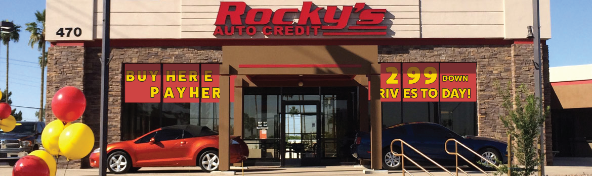 Our Mission at Rocky's Auto Credit in Mesa, AZ