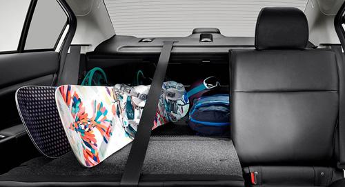 2015-Subaru Impreza Flexible Space