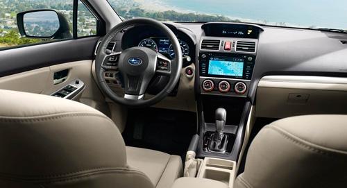 2015 Subaru Impreza Leather Trim