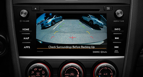 2015-Subaru Impreza Rear Vision Camera
