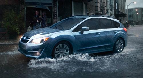 2015 Subaru Impreza Smart Breaking System