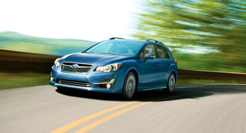 2015 Subaru Impreza Vehicle Dynamics Control
