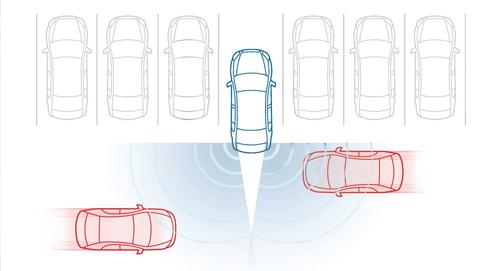 2015 Subaru Legacy Blindspot Detection