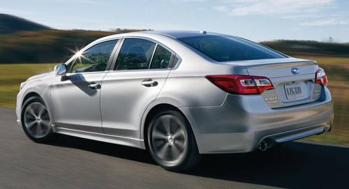 2015 Subaru Legacy Fuel Efficiency