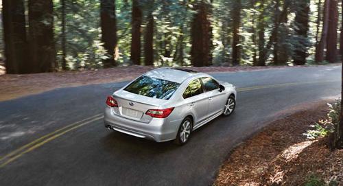 2015 Subaru Legacy Vehicle Dynamics Control