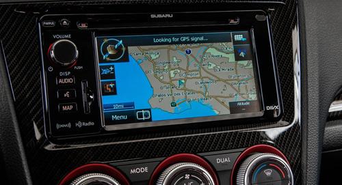 2015 Subaru WRX GPS