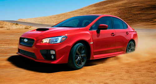 2015 Subaru WRX Variable Torque Distribution