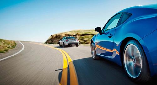 Subaru BRZ Rear Wheel Drive