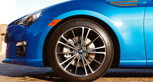Subaru BRZ Smart Breaking System