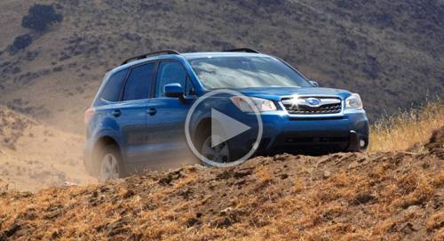 Subaru Forester AWD Video