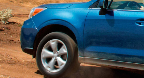 Subaru Forester Ground Clearing Capability
