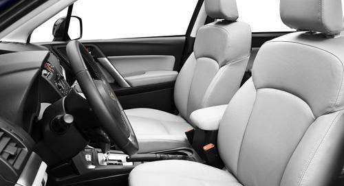 Subaru Forester Interior Comforts