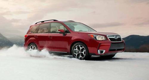 Subaru Forester Smart Braking System