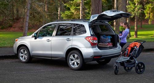 Subaru Forester Storage Space