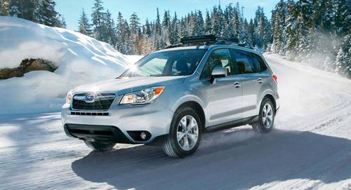 Subaru Forester Vehicle Dynamics Control