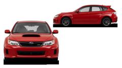 Subaru Red Vehicle Image